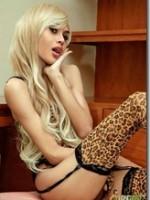 Long Mint in leopard print lingerie